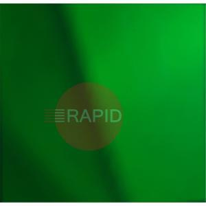 CURTAIN57  3000MM DROP X 2500MM WIDE GREEN PVC CURTAIN