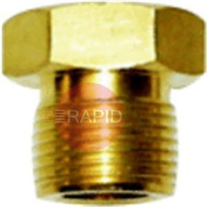"DANUTLHLX  Regulator Nut 5/8"" BSP Acetylene (LH)"