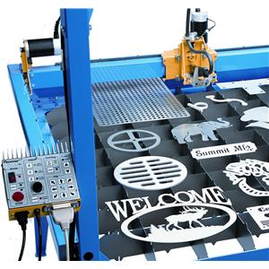 DHC2  PlasmaCAM DHC2 CNC Plasma Cutting System 4ft x 4ft With Design Edge Software ( Requires PC & Hand Plasma Cutter ) Our Price Includes UK Installation & Training.