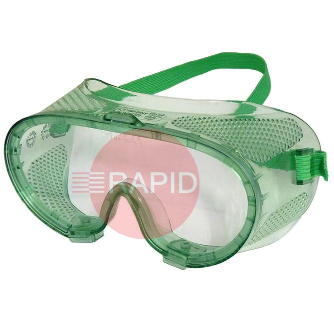 E2GCDV1  Economy Clear Safety Goggle