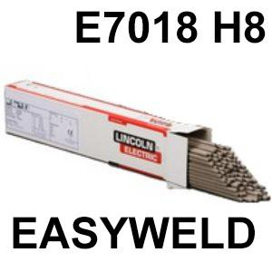 EASY7018  Lincoln EASYWELD 7018 Low Hydrogen Electrodes E7018 H8, E 42 3 B 32 H10