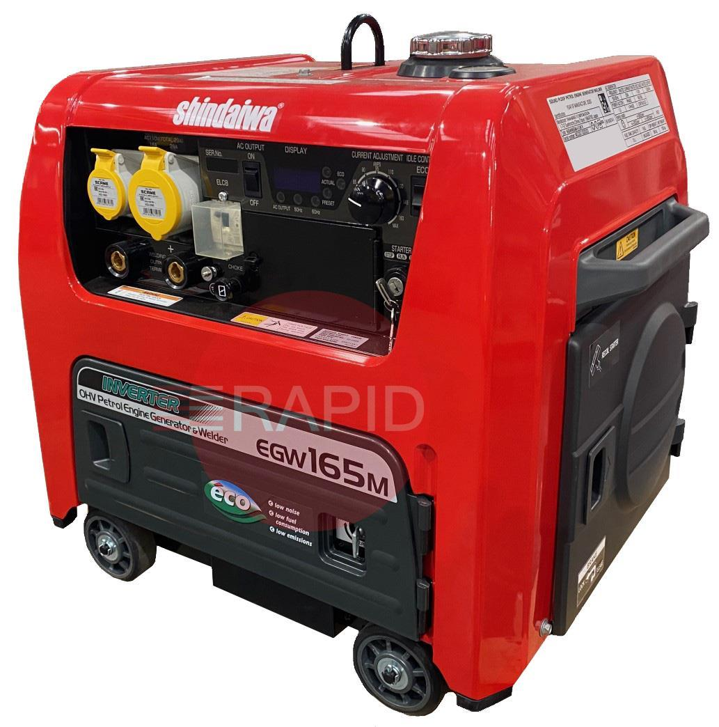 ECO165UK  Shindaiwa ECO 165/UK Petrol Driven Welder Generator with Digital Display