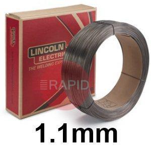 "ED031131  Lincoln Electric Lincore 60-O Hardfacing Flux Cored Wire, 1.1 mm (.045"") Diameter 11.35 Kg (25.0 Ib) Carton"