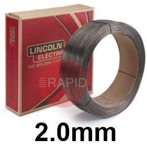 "ED031133  Lincoln Electric Lincore 60-O Hardfacing Flux Cored Wire, 2.0 mm (5/64"") Diameter 11.35 Kg (25.0 Ib) Carton"