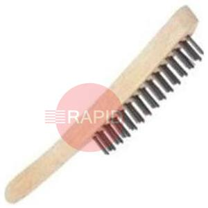 B55S2  Wire Brushes Stainless Steel 2 Row