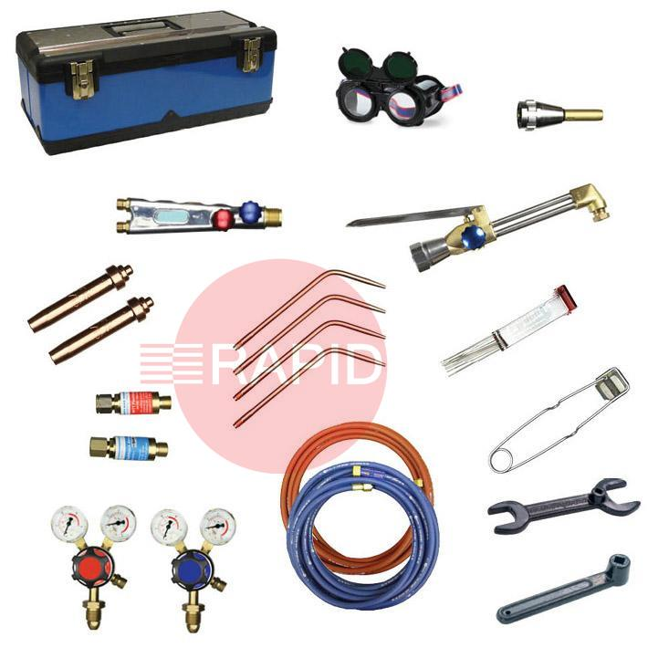 FUTKITLW-OA  Lightweight Welding and Cutting Kit, Oxygen / Acetylene