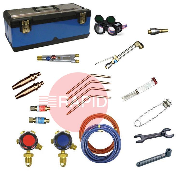 FUTKITTYPE23-OA  Type 2/3/4 Welding and Cutting Kit, Oxygen/Acetylene