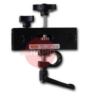 GK-171-690  Rack Box with Stud Swivel Clamp and Micro Fine Adjustment Gear Box for Arm Mounting