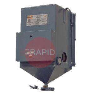 GOV-100-FH  Flux Holding Hopper. 115 volt, 100-400° F (38-205° C) temperature, 400 watts, complete with thermostat and thermometer.44Kg Capacity