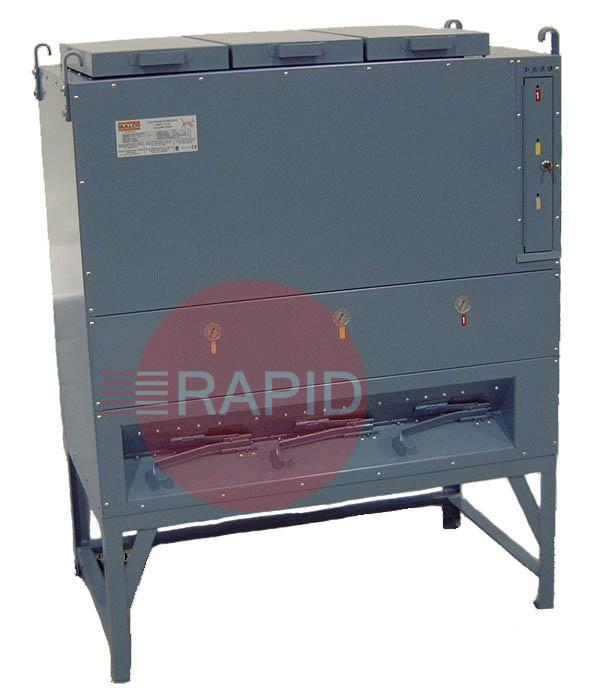 GOV-600-FDHT  High Temperature Flux Holding Oven - 265kg Capacity. 100-850° F (38-455° C) 11400 Watts, 440v 3ph