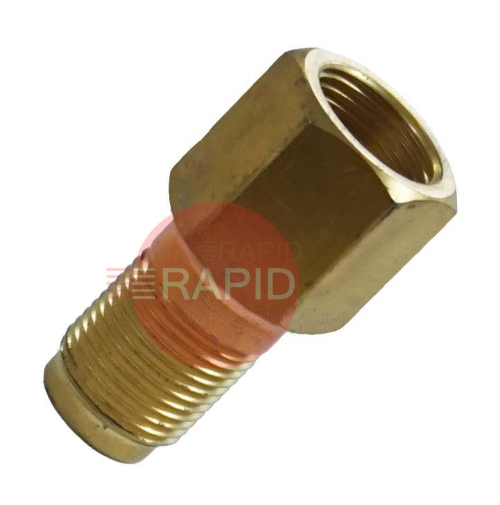 H2080  Harris Nipple 2357-3. Made of Brass to Extend Service Life Heating Heads.