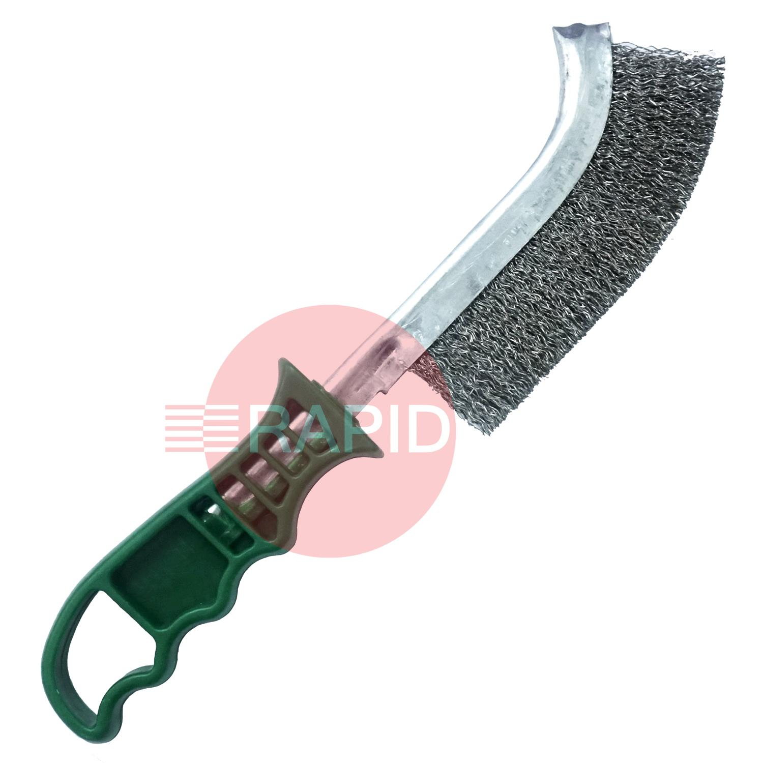 HA9002X  UNIVERSAL STAINLESS HAND SCRATCH BRUSH