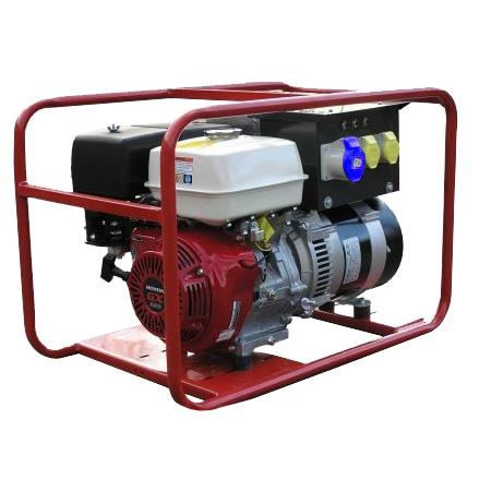 HRP60  RAPID APPROVED GENERATOR IN FRAME. HONDA POWERED 6.0KW 7.5 Kva