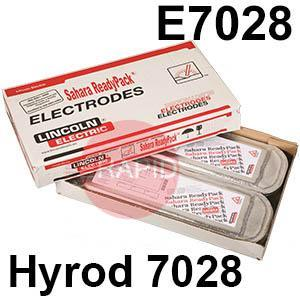 Hyrod-7028-SRP  Lincoln Electric Hyrod 7028 Vacuum Sealed SRP Pack, Low Hydrogen Electrodes