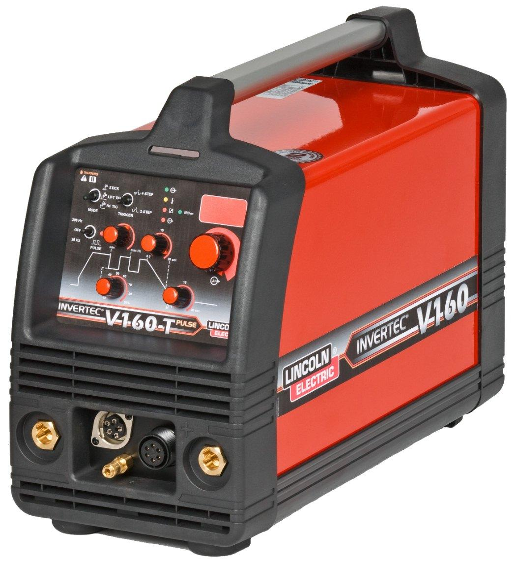 K12018-3  LINCOLN INVERTEC V160 TP - 2V CE TIG POWER SOURCE