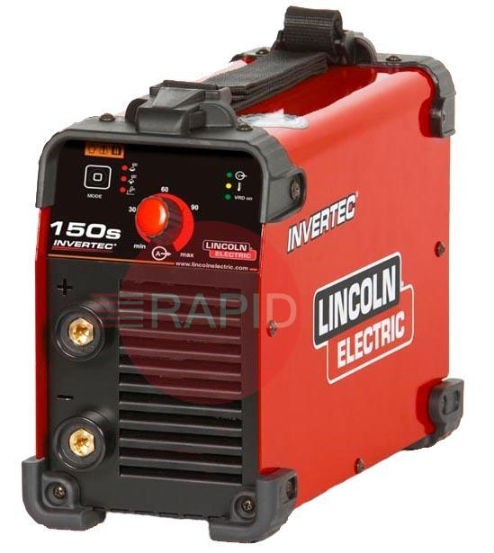K12034-1  Lincoln Invertec 150S DC Arc Welder 230v CE