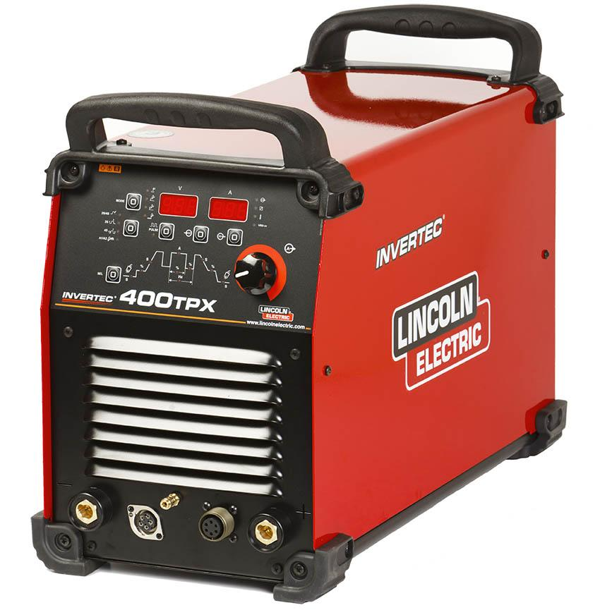 K12043-1P  Lincoln Invertec 400TPX Tig Welder, Ready to Weld Package, 400v 3ph