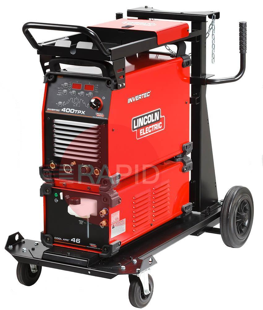 K12043-1WP  Lincoln Electric Invertec 400 TPX Water Cooled Ready to Weld Package 400v 3ph CE
