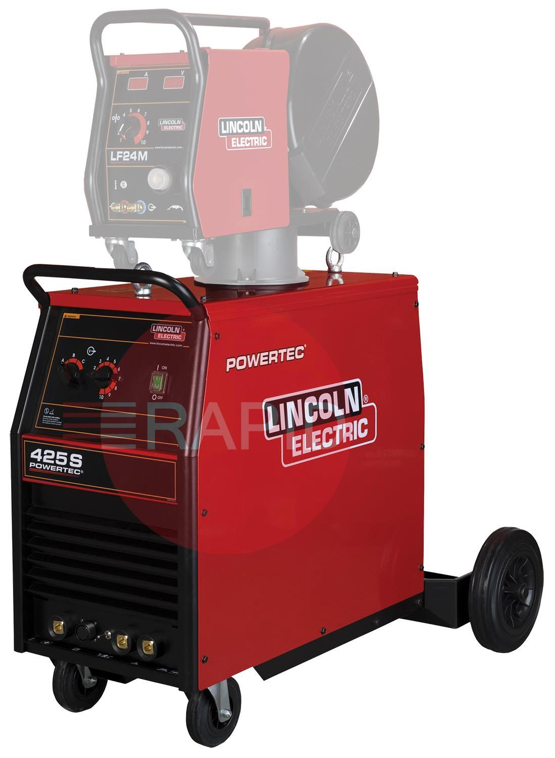 K14062-1A  Lincoln Powertec 425S Power Source - Air Cooled