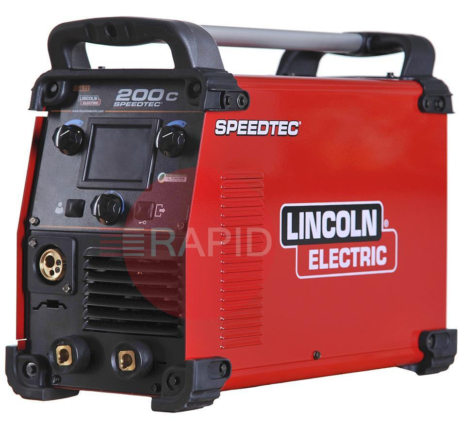K14099-1  Lincoln Speedtec 200C Mig Power Source, 230v