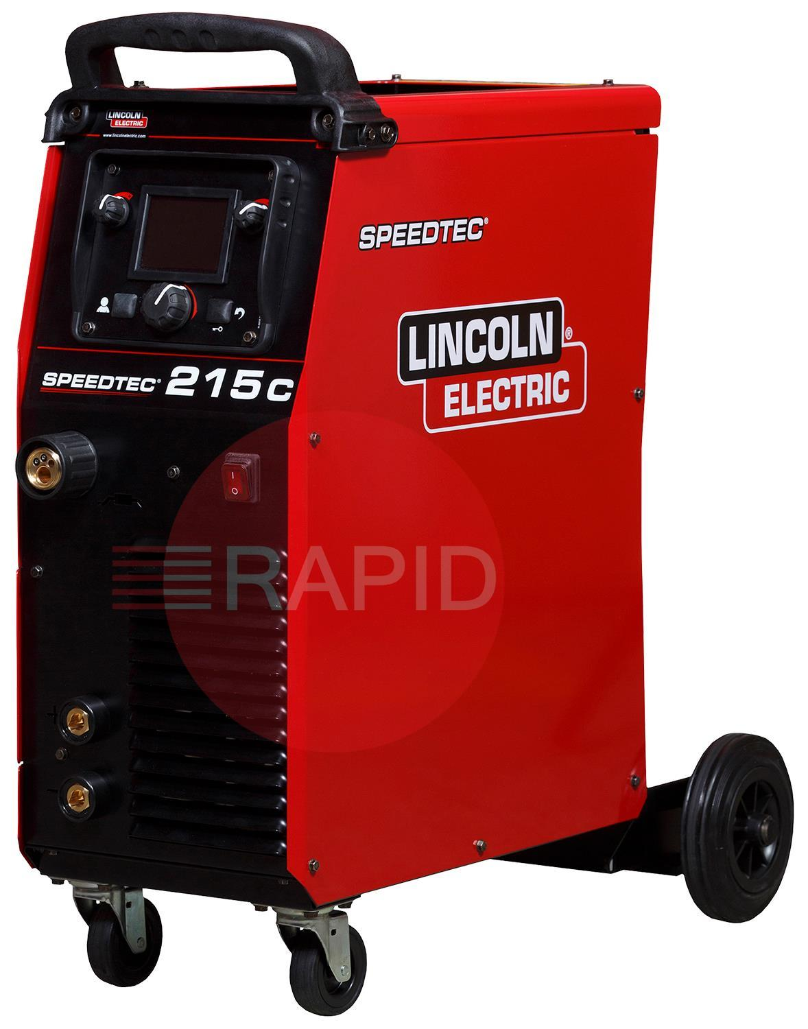 Buy Lincoln Electric Speedtec 215c Multi Process Compact Inverter Welder And Generator Parts K14146 1 110 230v Phase