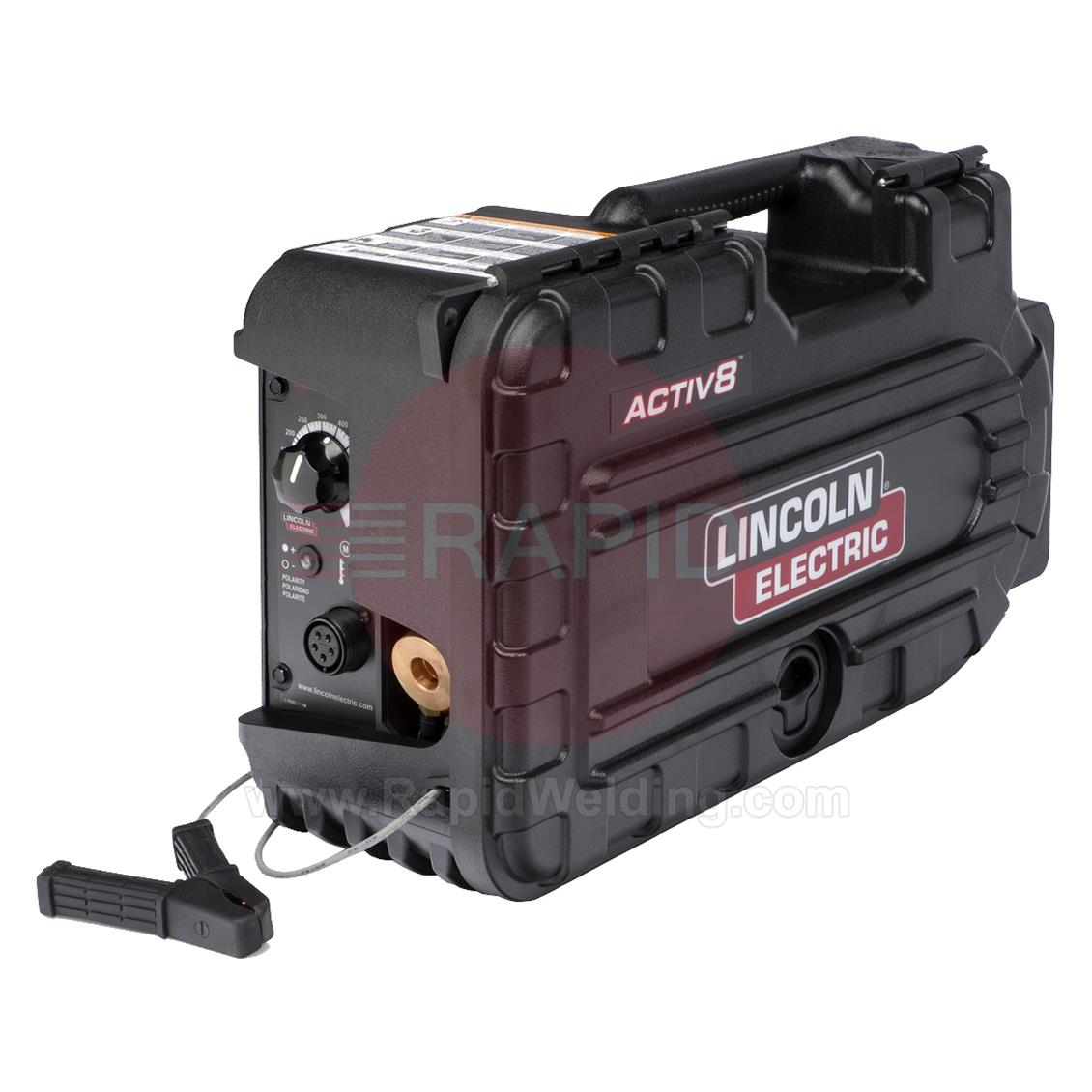 K2999-1  Lincoln Activ8™ Portable Semi Automatic CC/CV Wire Feeder