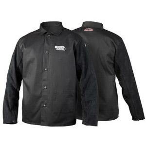 K3106-X-CE  Lincoln Electric Traditional Split Leather Sleeved Welding Jacket, EN11611