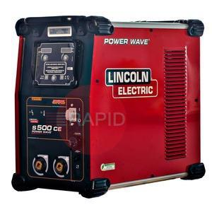 K3168-1  Lincoln Power Wave S500 Power Source, 400v 3ph CE