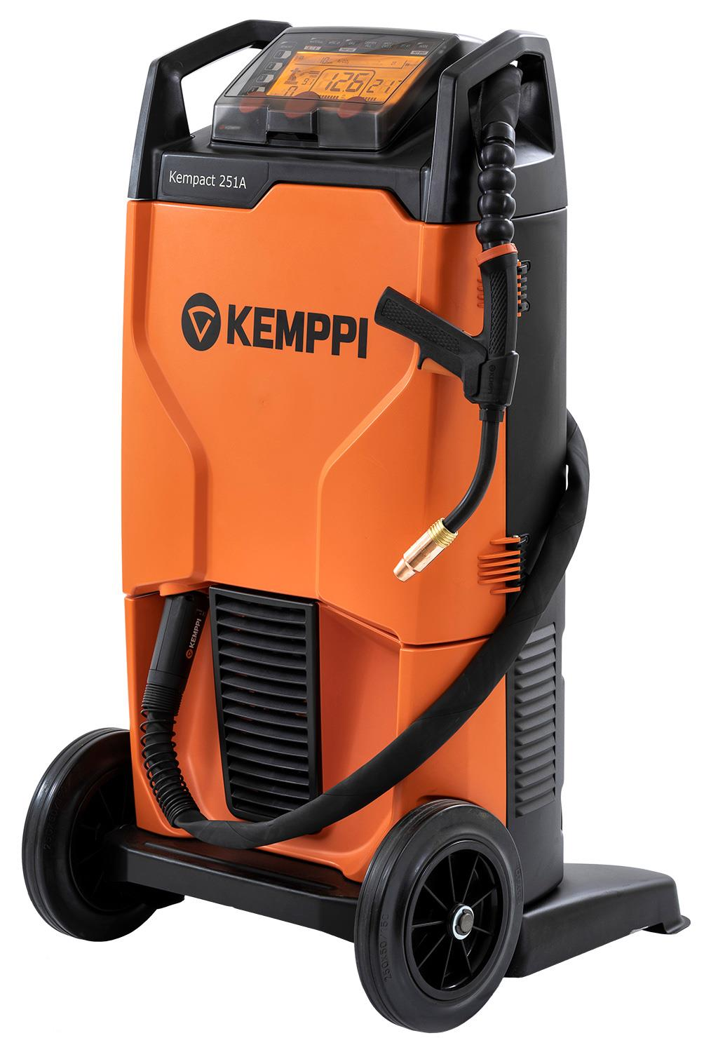 KempactRA-251A  Kemppi Kempact RA 251A, 250A 230v Mig Welder, with FE25 Torch