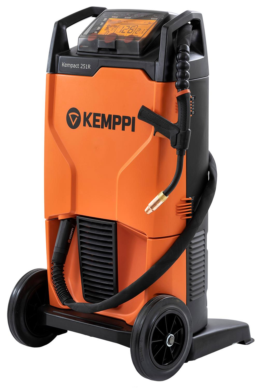 KempactRA-251R  Kemppi Kempact RA 251R, 250A 230v Mig Welder, with FE25 Torch