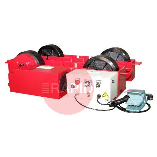 LPP3  3000kg Welding Rotators, Including Drive, idler and pendant, 240v