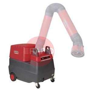 Lincoln-Mobiflex300E  Lincoln Mobiflex 300-E Mobile Fume Extractor (machine only, arm not included)