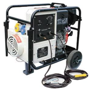 MM3-200L-RS  Mighty Midget 3/200 L-RS 200A Diesel Welder Generator, 3kVA (1ph 230/110v AC Aux) Recoil Start
