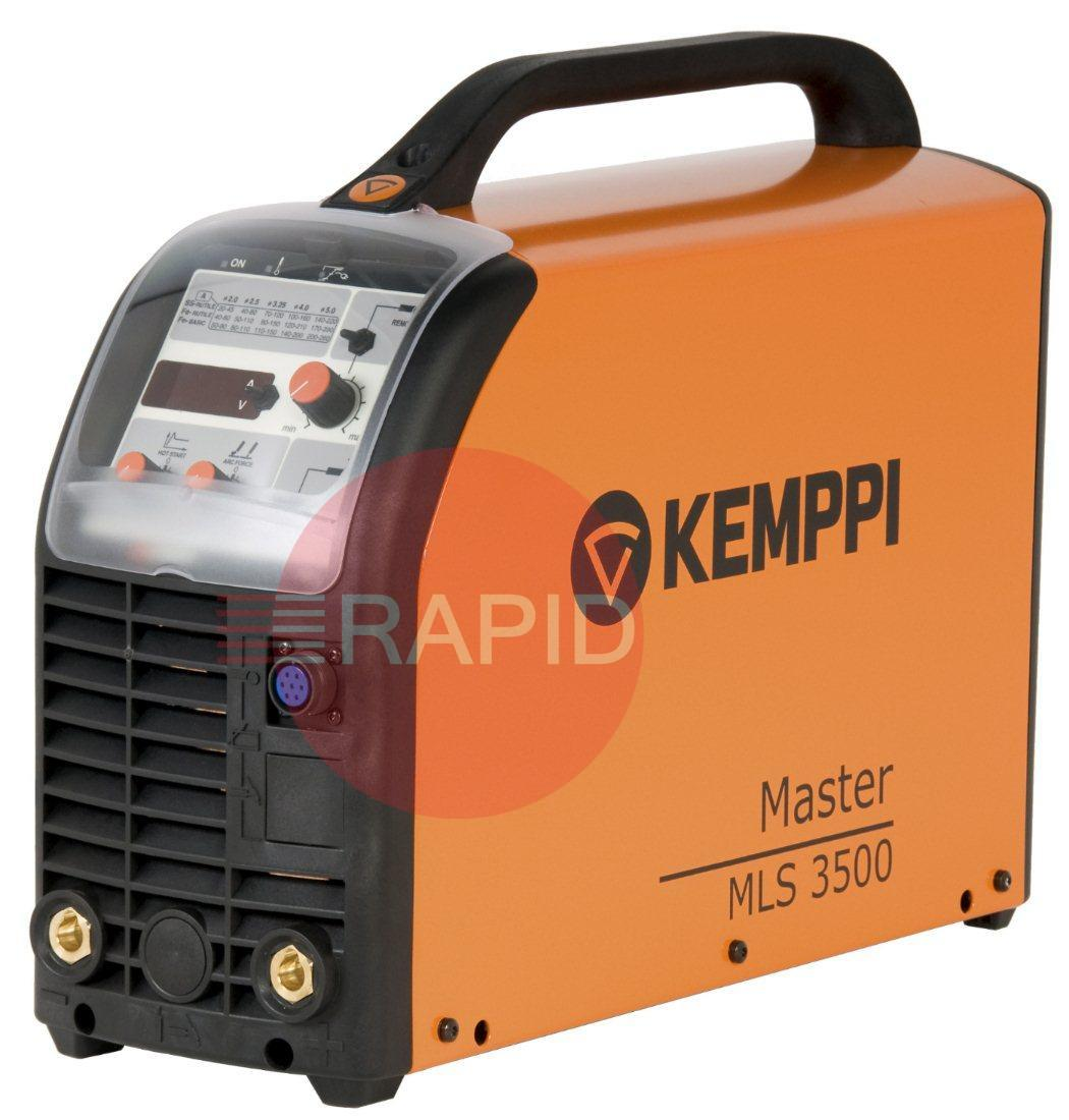 P0111  Kemppi Master 3500 MLS Arc Welder With MEL Basic Function Panel. 400V, 3Ph
