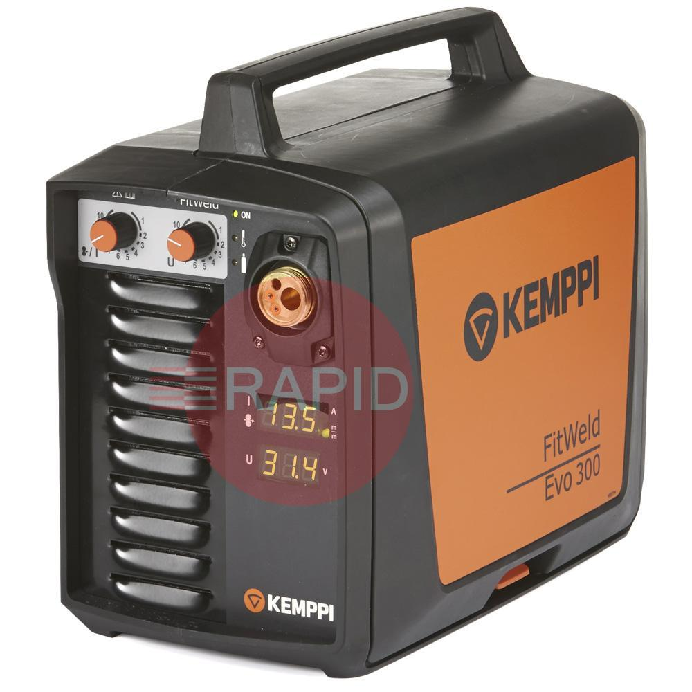 P2104  Kemppi Fitweld 300 Evo Mig Welder with FE32 5.0m Torch & Earth, 400v