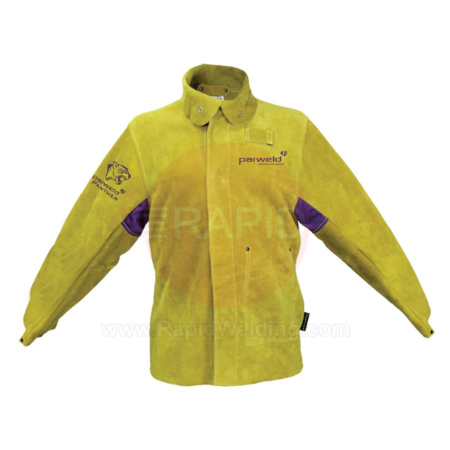 P3788  Panther Leather Welding Jacket, BS EN ISO 11611:2007