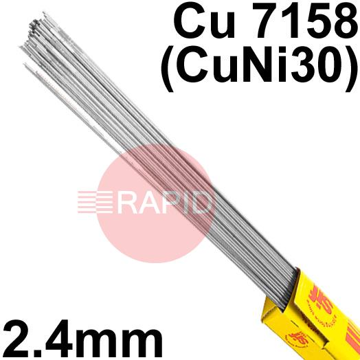 RT732450  Sifalloy No73 Special Alloy TIG Wire 2.4mm Dia 5.0kg Ctn, ISO 24373 Cu7158 (CuNi30)