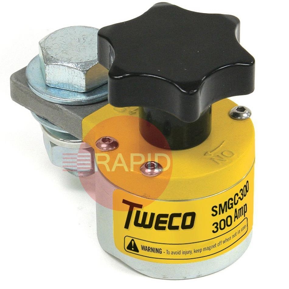 SMGC300  Tweco Switchable Magnetic Ground Clamp 300 amp