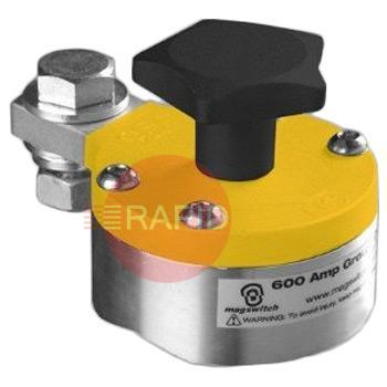 SMGC600  Tweco Switchable Magnetic Ground Clamp - 600 amp