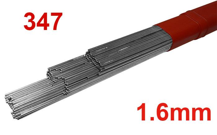 T34716  347 Stainless Steel Tig Rod 1.6mm Diameter (347S96)