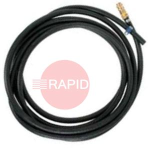 W000566  Kemppi 6M Gas Hose With Quick Connector