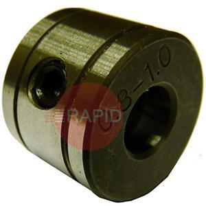 W000749  Kemppi Minarcmig Standard Feed roll For Wire Sizes 0,6 to 1,0 mm