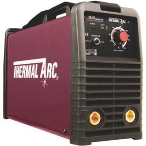W1003605  Thermal Arc Arcmaster 161 S Dual Voltage Inverter Stick Welder. 110 / 230v. With Arc Cables & Case.