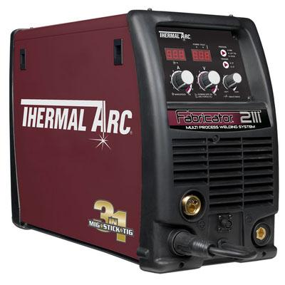W1004207  Thermal Arc Fabricator 211i Dual Voltage 110V & 240V Multiprocess Inverter Welder, For Mig / Tig & Arc Welding <font color='blue'>This machine is Shipped Free in Europe</font>