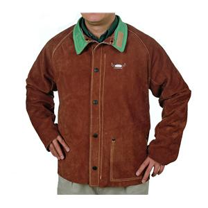 WEL44-7300/76  Weldas Lava Brown Jacket 76cm Length Medium
