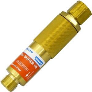 WIT146.001  Witt Reset. FBA Super 55 3/8''BSP LH Fuel Gas Hydrogen / Acetylene / Propane / Natural Gas & Methane.