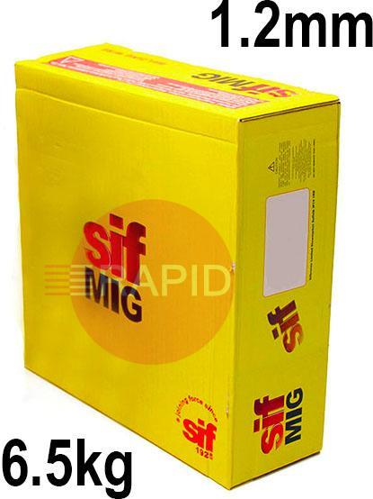 WO161265  SIFMIG 4047 Mig Wire, 1.2mm Diameter, 6.5KG Spool, EN ISO 18273 S AI 4047A (AISi12), BS 2901 4047A (NG2)