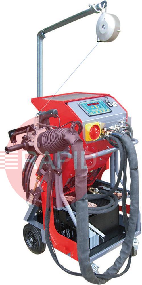ZX3650EVOCX  Tecna Cobra Evolution 9,000 Amps Spot Welder Package with 'C' & 'X' Guns, PAS 125
