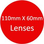 110mm X 60mm Lenses