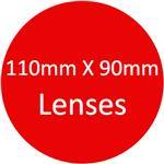 110mm X 90mm Lenses